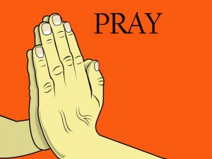 Hands On Prayer Wallpaper