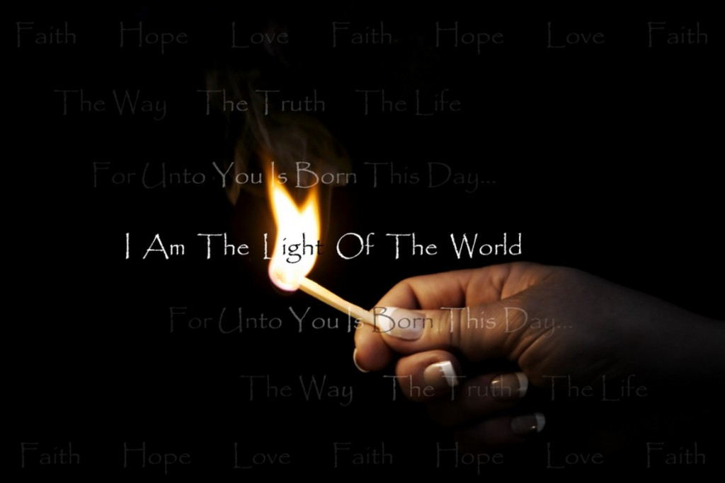 Light Of The World christian wallpaper free download. Use on PC, Mac, Android, iPhone or any device you like.