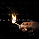 Light Of The World Wallpaper Christian Background