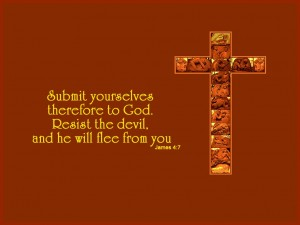 James 4:7 – Submit Yourselves To God Wallpaper