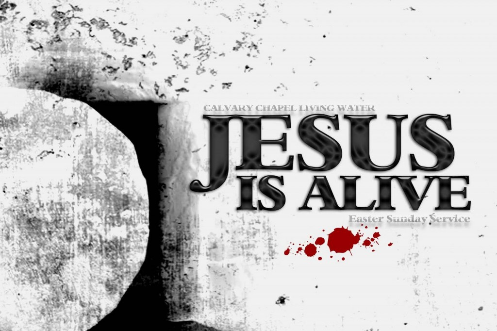 Jesus Is Alive christian wallpaper free download. Use on PC, Mac, Android, iPhone or any device you like.