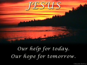 Jesus Today And Tomorrow Wallpaper