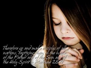 Matthew 28:19 – Evangelism Wallpaper