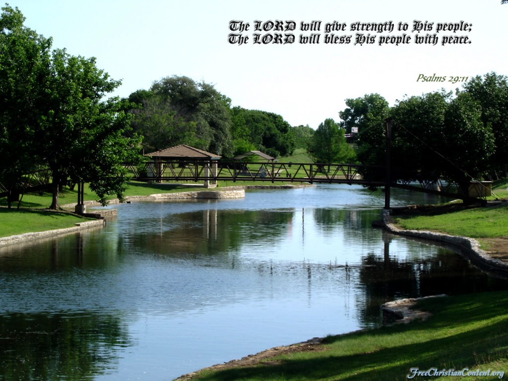 Psalm 29:11 – The Lord Blesses His People christian wallpaper free download. Use on PC, Mac, Android, iPhone or any device you like.