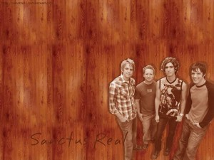 Christian Band: Sanctus Real Members Sketch Wallpaper