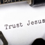 Trust Jesus! Wallpaper Christian Background
