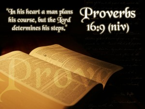 Proverbs 16 :9 – In The Lord's Guidance Wallpaper