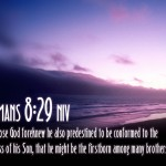 Romans 8:29 – The Son Of God Wallpaper Christian Background