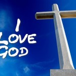 Christian Graphic: I Love God Wallpaper Christian Background