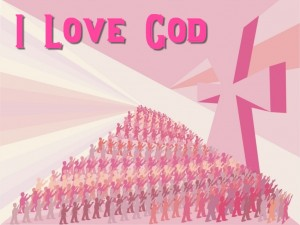 I Love God Wallpaper