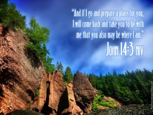 John 14:3 – The Lord Will Come Back For Us Wallpaper