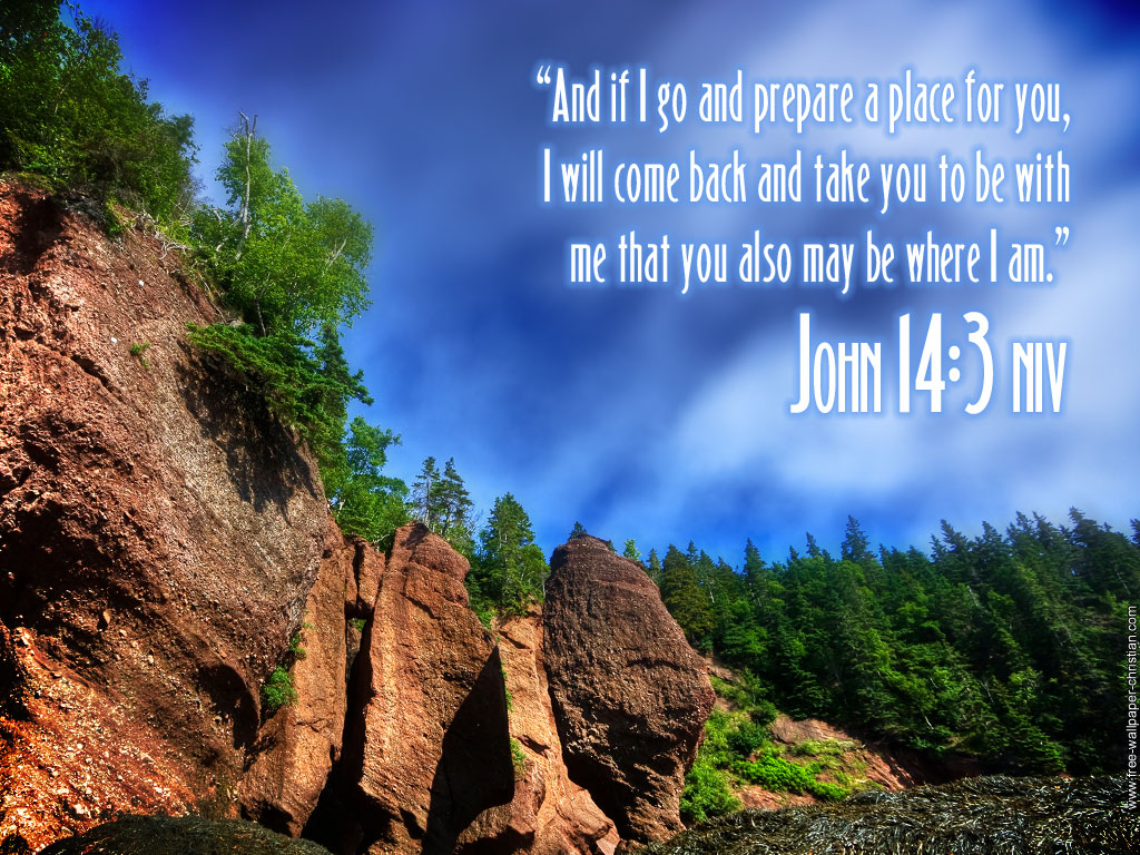 John 14:3 – The Lord Will Come Back For Us christian wallpaper free download. Use on PC, Mac, Android, iPhone or any device you like.