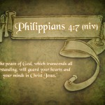 Philippians 4:7 – The Peace Of God Wallpaper Christian Background