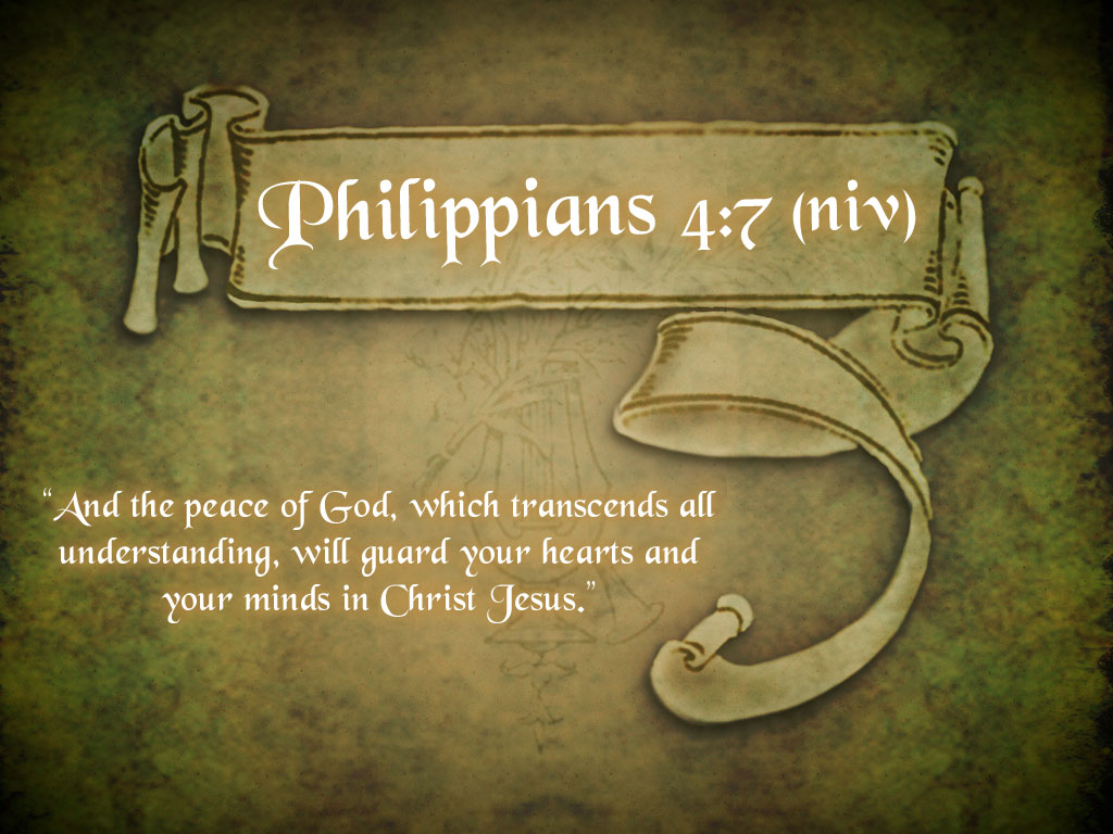Philippians 4:7 – The Peace Of God christian wallpaper free download. Use on PC, Mac, Android, iPhone or any device you like.