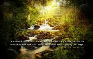 Revelation 14:2 – Voice From Heaven Wallpaper