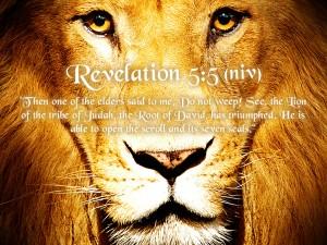 Revelation 5:5 – Do Not Weep Wallpaper