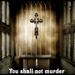 God's Sixth Commandment – You Shall Not Murder Wallpaper Christian Background