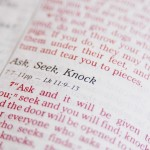 Matthew 7:7 – Ask, Seek, Knock Wallpaper Christian Background
