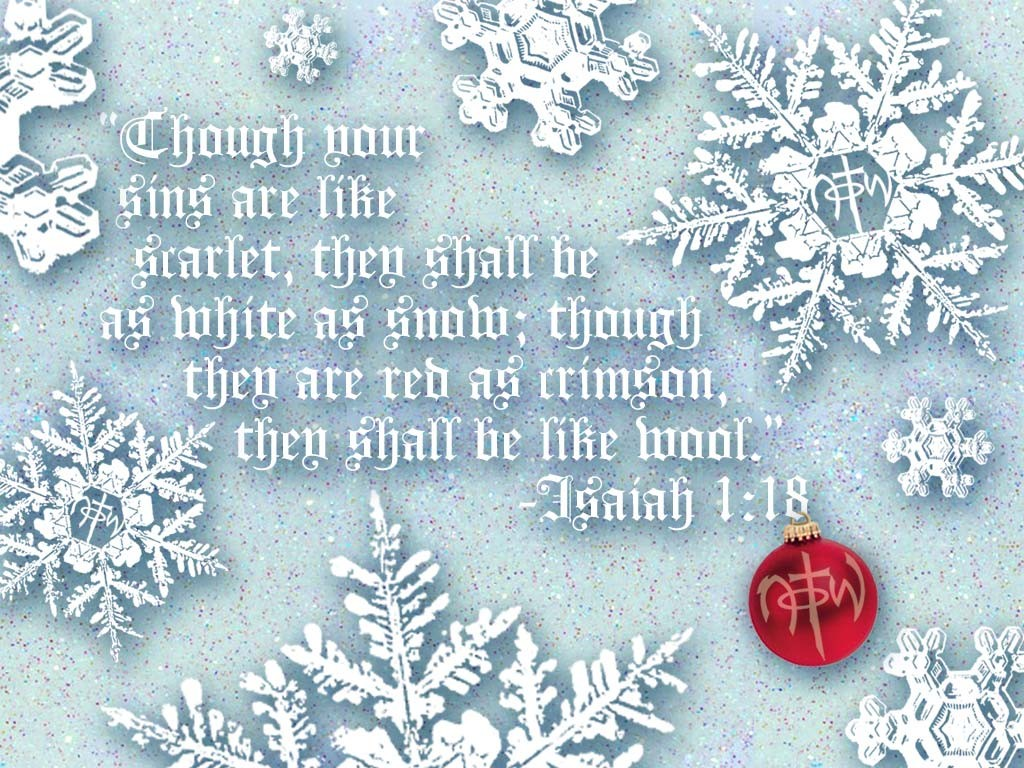 Isaiah 1:18 – Cleansing Our Sins christian wallpaper free download. Use on PC, Mac, Android, iPhone or any device you like.
