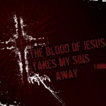 1 John 1:7 – Jesus' Blood Purifies Us Wallpaper Christian Background