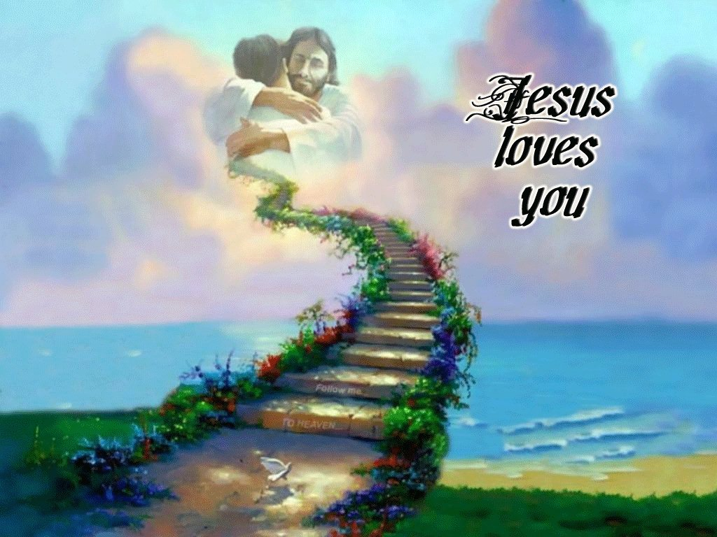 Jesus Loves You So Much christian wallpaper free download. Use on PC, Mac, Android, iPhone or any device you like.