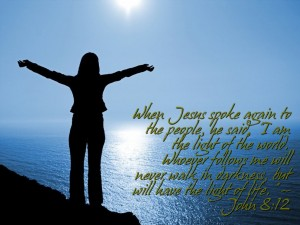 Jesus Is The Light Of The World Wallpaper