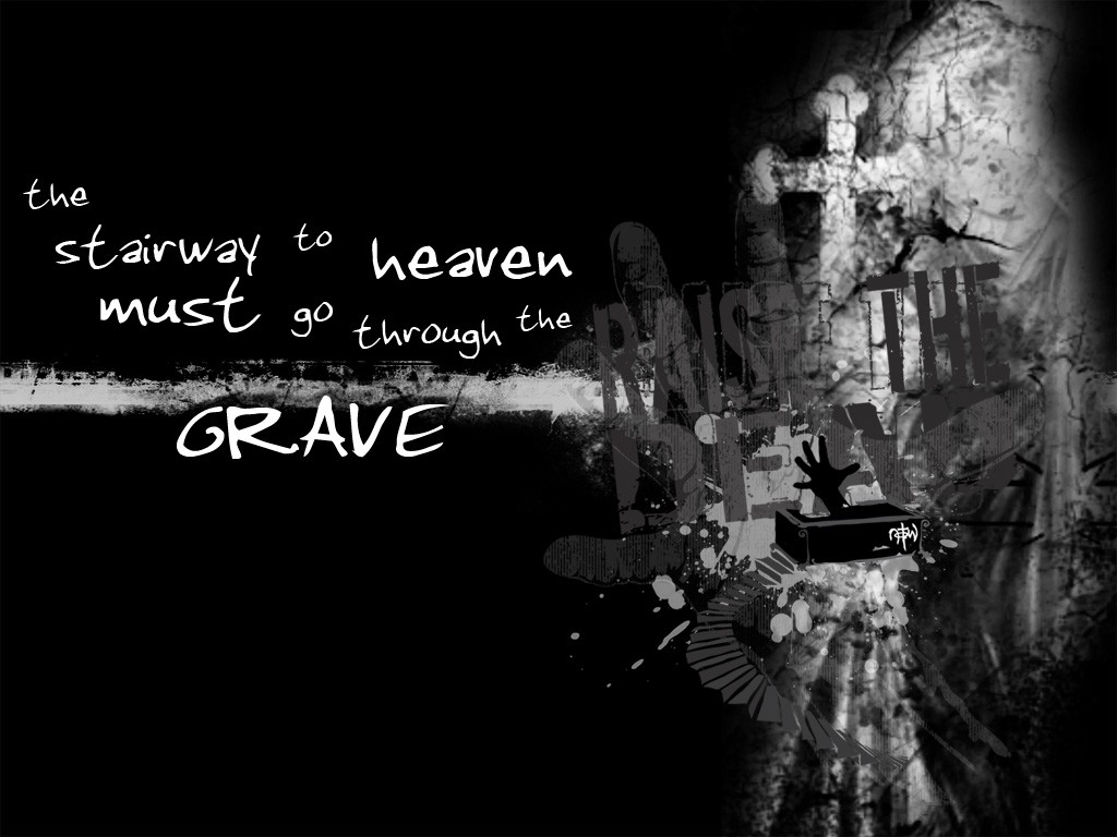Grave: Stairway To Heaven christian wallpaper free download. Use on PC, Mac, Android, iPhone or any device you like.