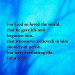 John 3:16 – God Loves You Wallpaper Christian Background