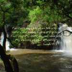 Isaiah 44:3 – God's Blessings Wallpaper Christian Background