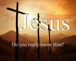 Do you know Jesus? Wallpaper