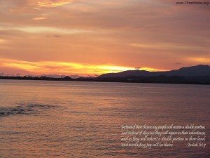 Isaiah 61:7 – Double Portion Wallpaper