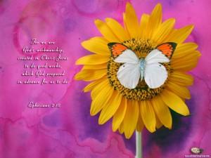 Ephesians 2:10 – God's Handiwork Wallpaper