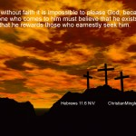 Hebrews 11:6 – Have Faith Wallpaper Christian Background