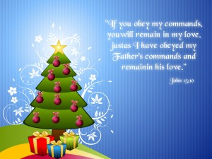 John 15:10 – Remain in God's Commands Wallpaper