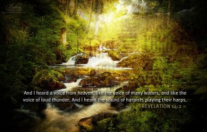 Revelation 14:2 – Sound of Heaven Wallpaper
