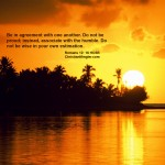 Romans 12:16 – Live in Harmony Wallpaper Christian Background