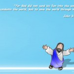 John 3:17 – Son Of God Wallpaper Christian Background