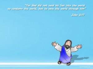John 3:17 – Son Of God Wallpaper