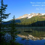 John 14:27 – Do Not Be Afraid Wallpaper Christian Background