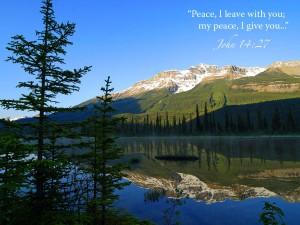 John 14:27 – Do Not Be Afraid Wallpaper