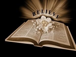 C.S. Lewis – Believe in Christianity Wallpaper