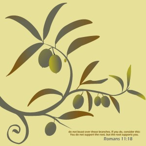 Romans 11:18 – The Roots Supports You Wallpaper