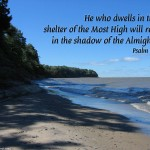 Psalm 91:1 – Shadow of the Almighty Wallpaper Christian Background