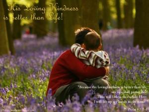 Psalm 63:3-4 – Better Than Life Wallpaper