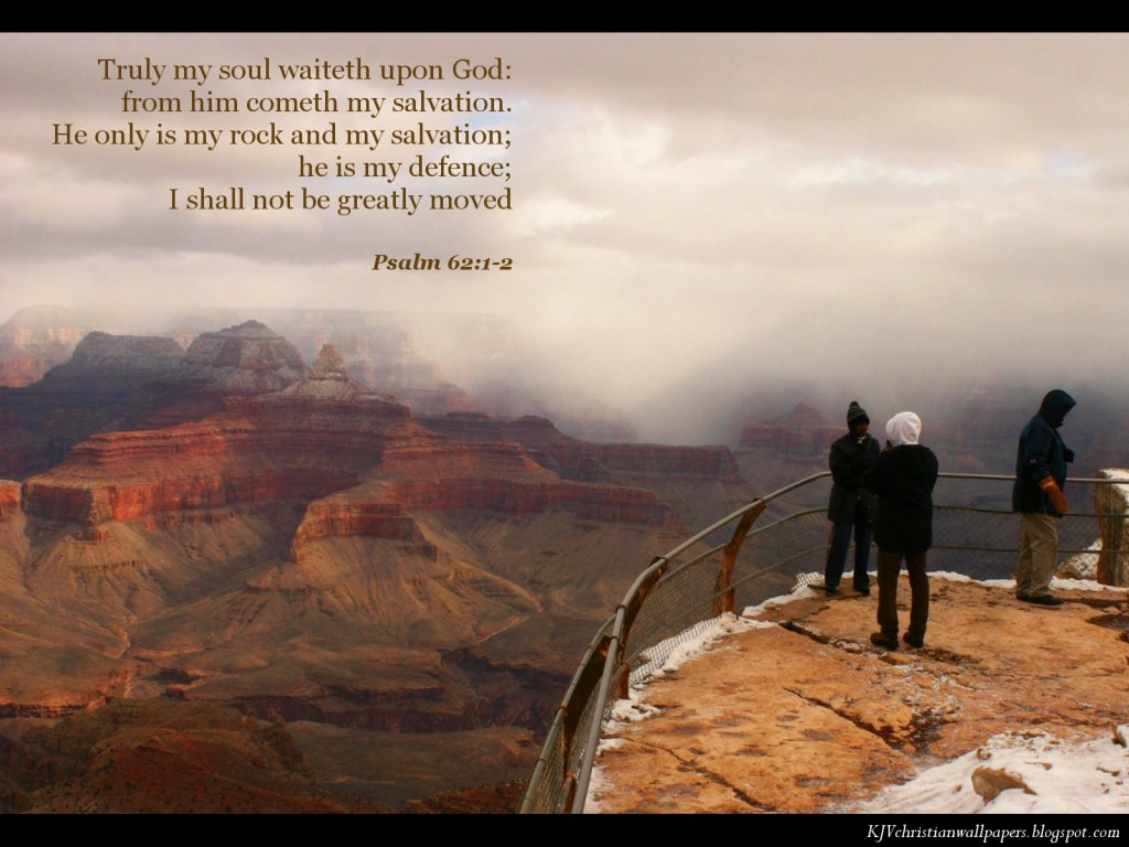 Psalm 62:1-2 – Rest in God christian wallpaper free download. Use on PC, Mac, Android, iPhone or any device you like.