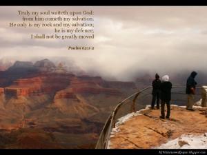Psalm 62:1-2 – Rest in God Wallpaper