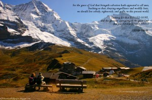 """Titus 2:11-13 – Say """"NO"""" to Ungodliness and Worldly Passion Wallpaper"""