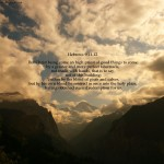 Hebrews 9:11-12 – High Priest Wallpaper Christian Background