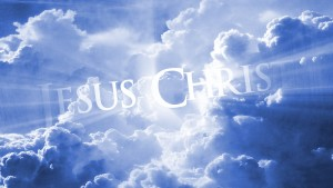 Jesus Christ in Heaven Wallpaper