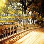 2 Peter 3:13 – New Heaven Wallpaper Christian Background